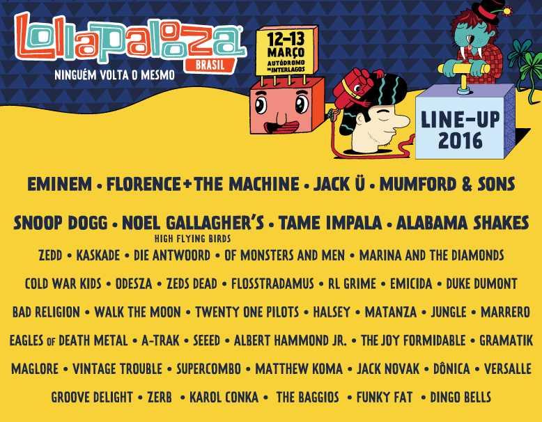 Lolla Brazil 2016