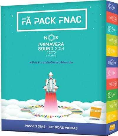 NOS Primavera Sound Festival 2016 Pack