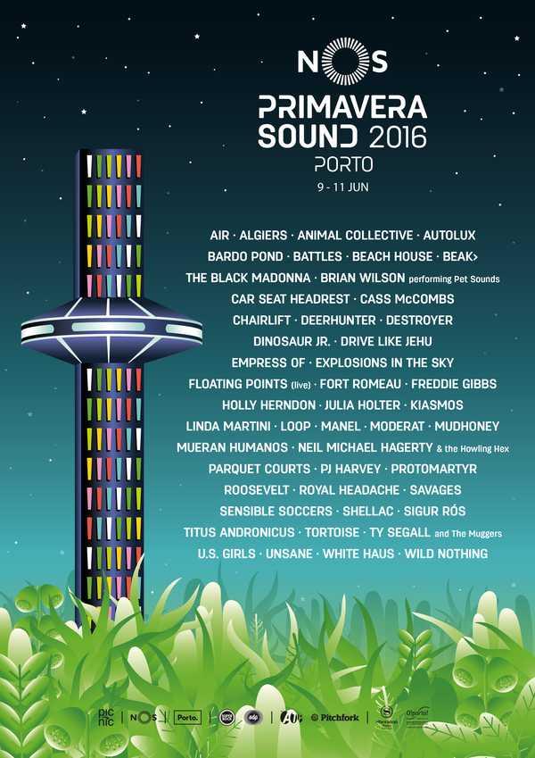 NOS Primavera Sound Festival 2016