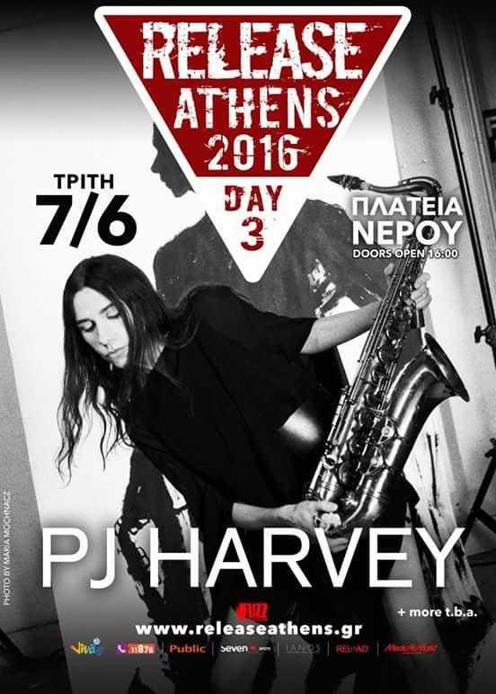 Η PJ Harvey στο Release Athens 2016