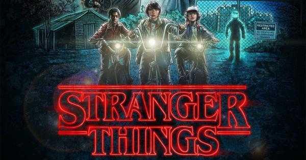 Stranger Things τηλεοπτική σειρά