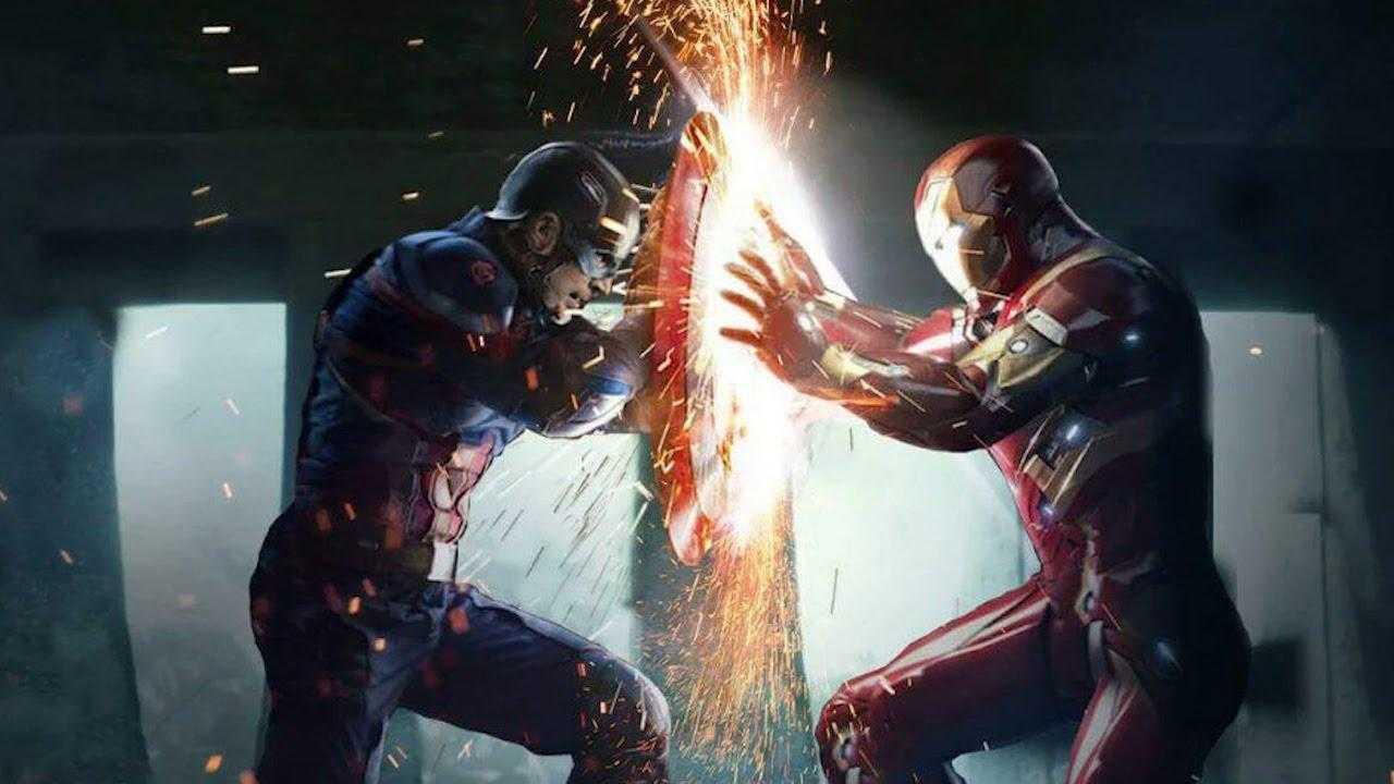 Captain America Εμφύλιος Πόλεμος