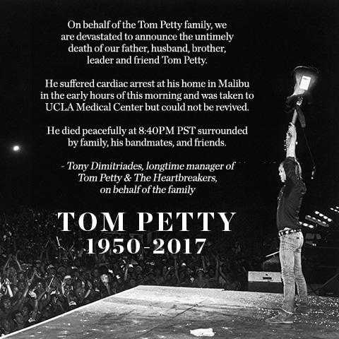 Tom Petty R.I.P.