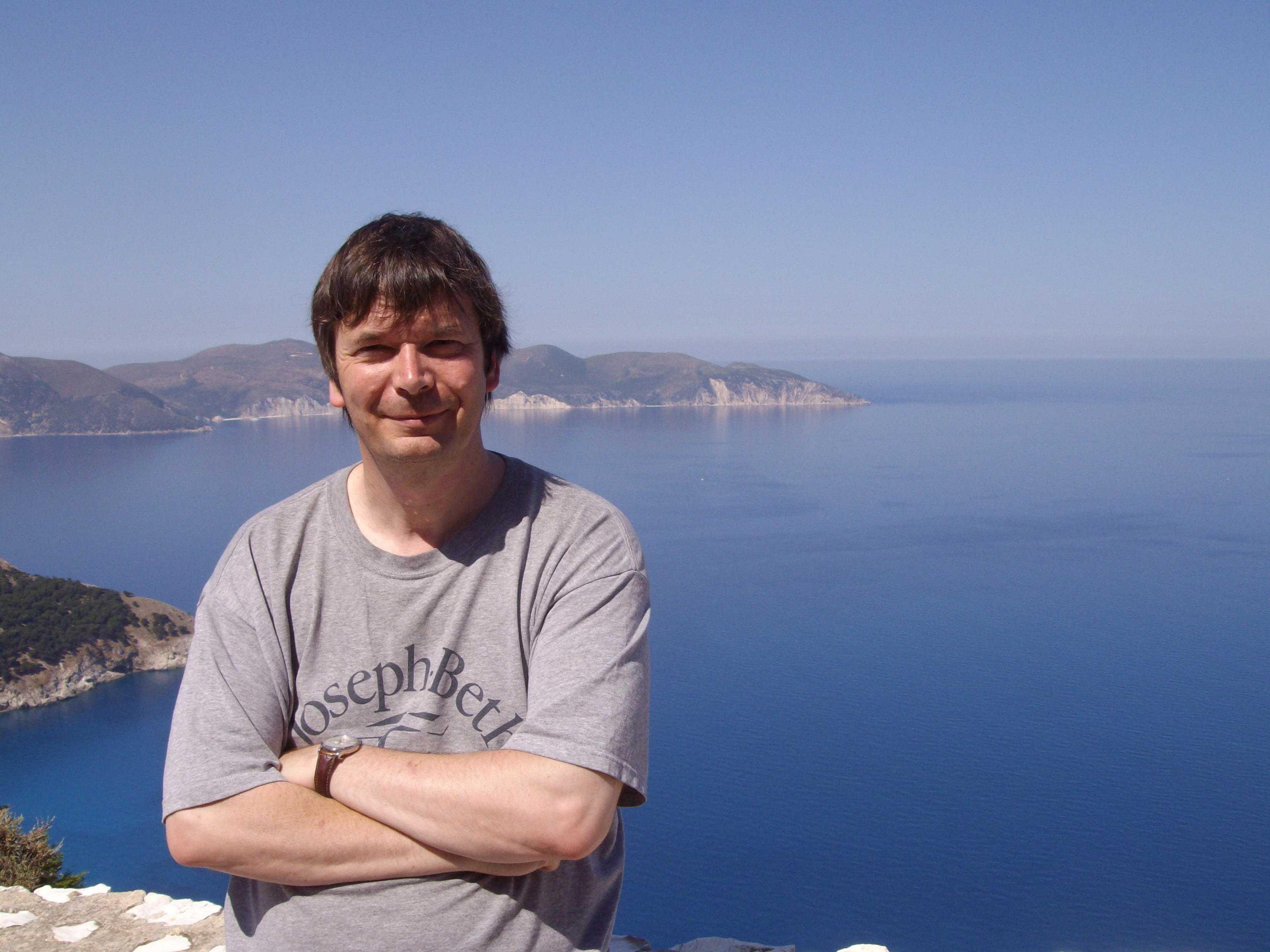 Ian Rankin in Lixouri