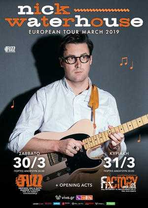 NICK WATERHOUSE @ Fuzz Club, Αθήνα
