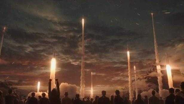 Wandering Earth Rockets