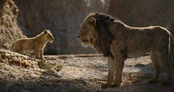 The Lion King (2019) - Simba, Scar