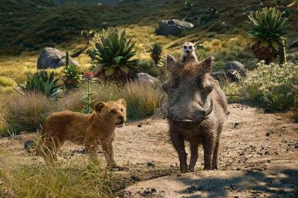The Lion King (2019) - Simba, Timon, Pumbaa
