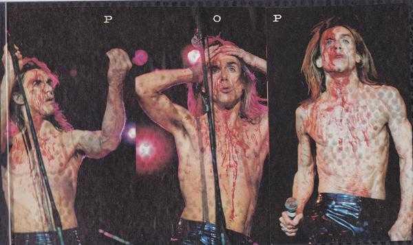 Iggy Pop στο Rock Of Gods 1996 - Λιμάνι Πειραιά