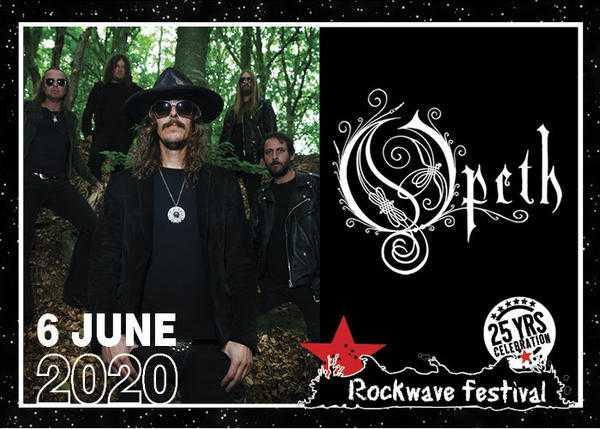 Opeth @ Rockwave 2020