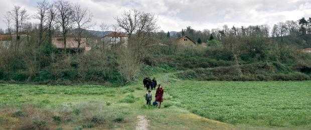 Αύγουστος Λάμπρου-Νεγρεπόντης & Πηνελόπη Τσιλίκα_location wide_field