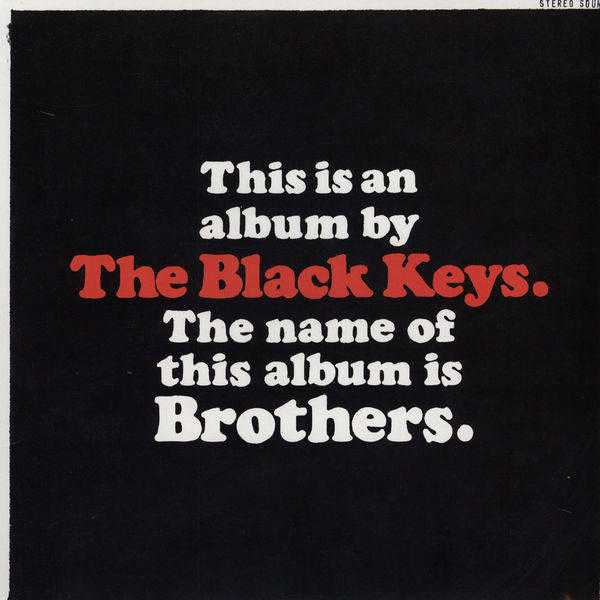 11. black keys brothers