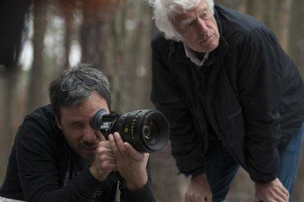 Denis Villeneuve and Roger  Deakins