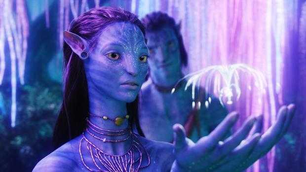 Zoe Saldana in Avatar (2009)