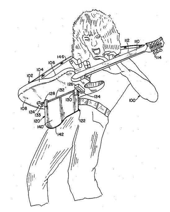 guitar tapping patent